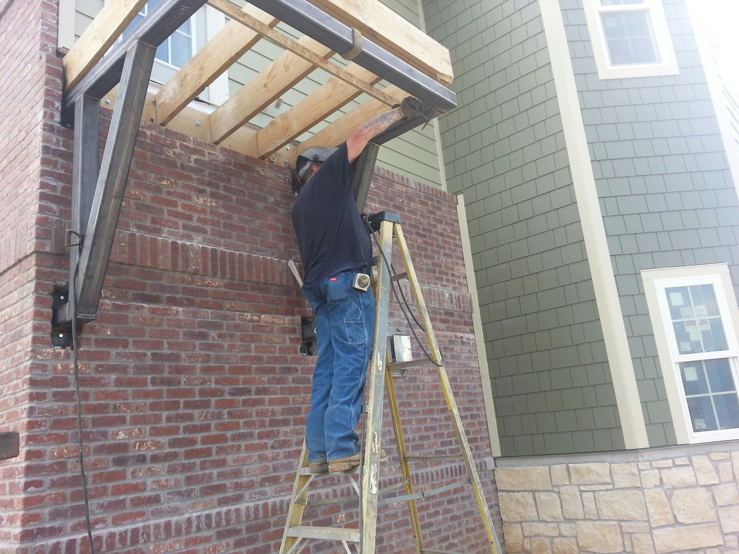 Free Standing Deck Support